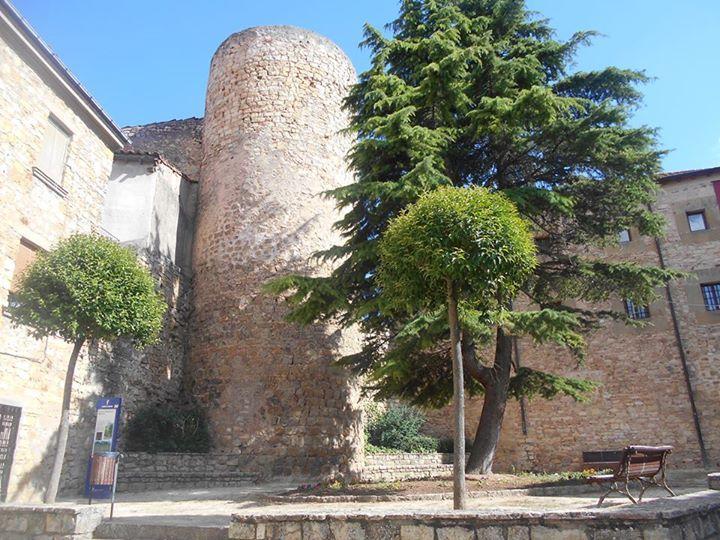 Torre de la muralla. en ella hay, hoy, un centro cultural