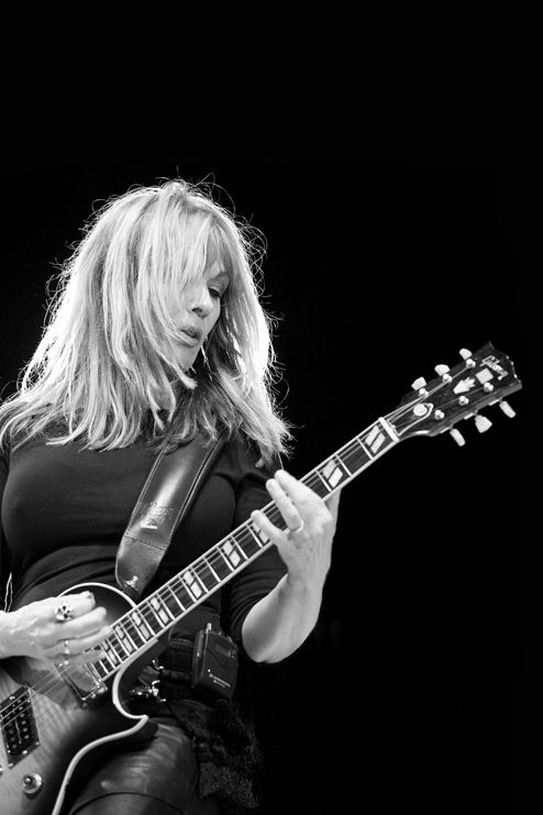 Nancy Wilson...I idolized her and her kick.