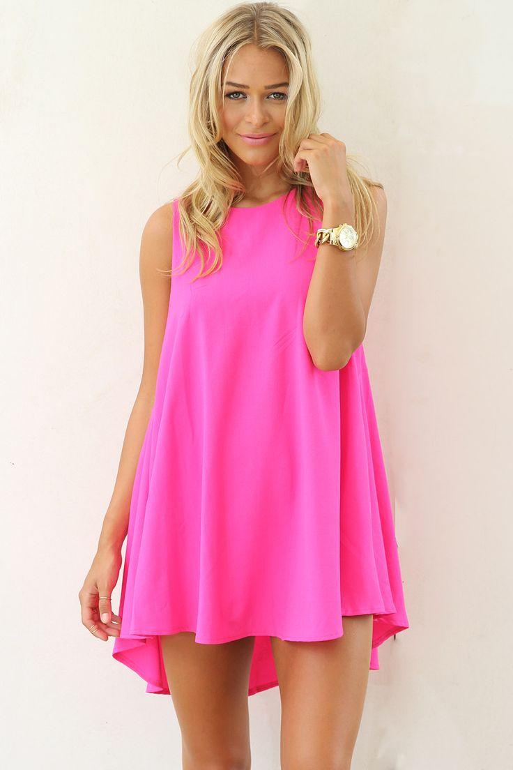 Buy hot pink dress