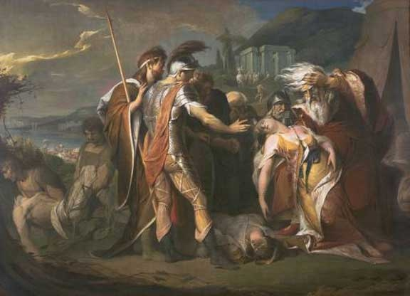 James Barry, King Lear Weeping over the Dead Body of Cordelia (1786-88)