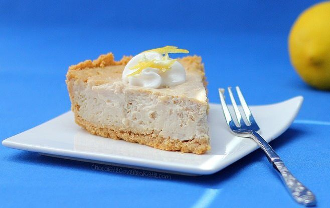 No one would ever guess this luscious lemon cheesecake is secretly low-fat, low-calorie, and even high in protein!