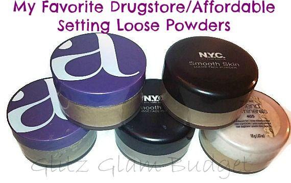 My Favorite Drugstore/Affordable Setting Loose Powders