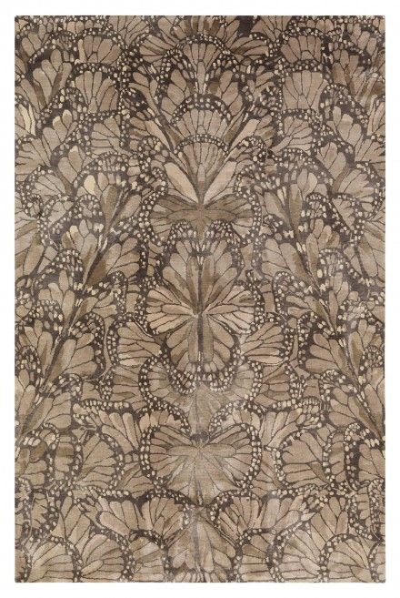Monarch Smoke by Alexander McQueen for The Rug Company
