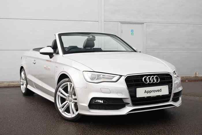 Lotus Grey Metallic Audi A3 Cabriolet