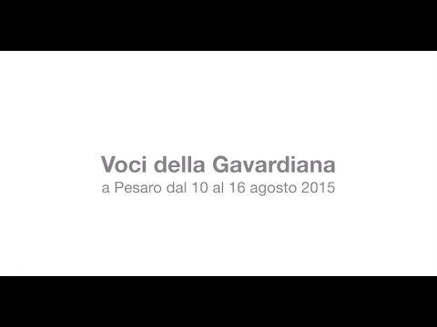 Voci della Gavardiana 2015 : testimonianze dei protagonisti