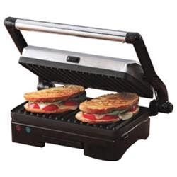West Bend 6113 Electric Grill and Panini Press - Countertop - Indoor