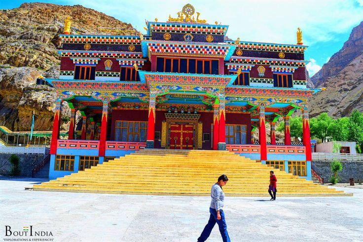 At Sakya Monastery, Kaza. Spiti valley. Himachal Pradesh. #boutindia #adventuretravel #kaza #spiti #himachalpradesh #sakyamonastery