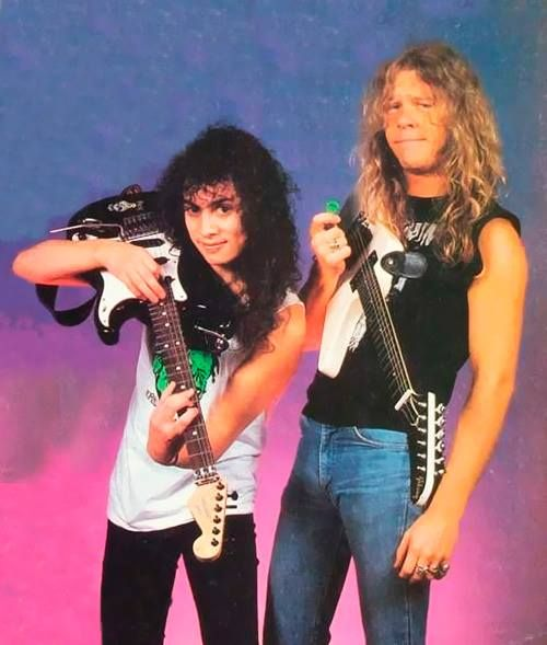 metallica, james hetfield, kirk hammett,