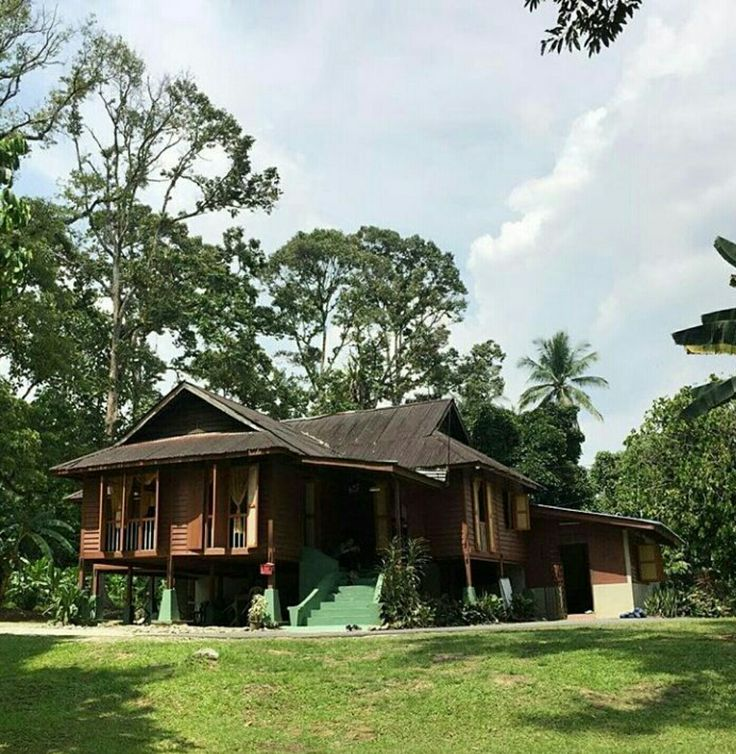 Traditional house in Malaysia