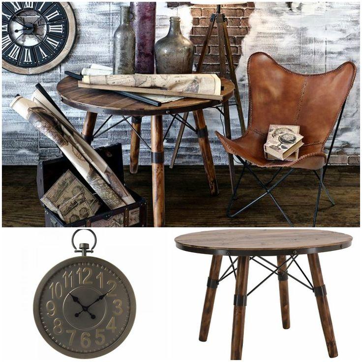 Δώστε industrial style στο σαλόνι σας.