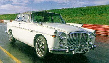 Rover P5B 3.5 litre coupe.