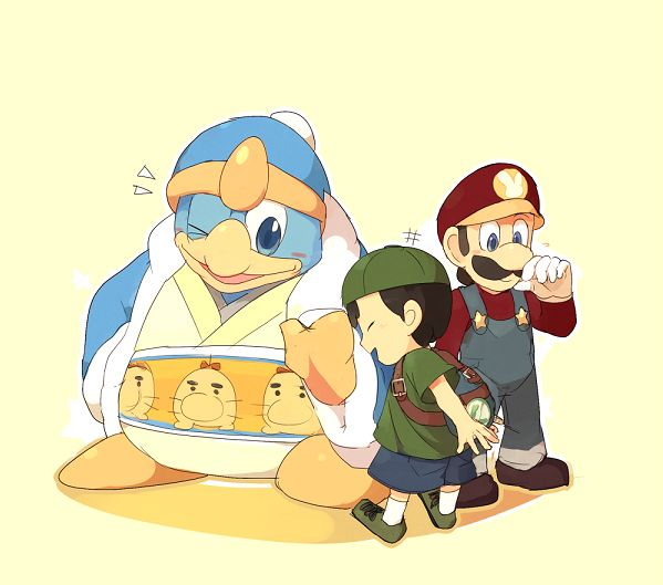 King Dedede, Ness And Luigi