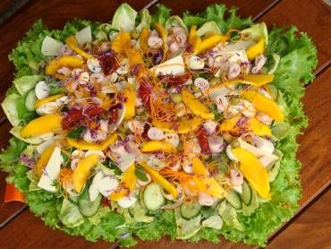 Salada tropical - Tudo Gostoso