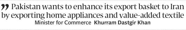 Enhancing formal channels: Pakistan prepares for Rouhanis visit as illicit trade continues -...