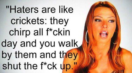 Drita from Mob Wives.  She raps, and boxes and raises her kids on her own while her lousy husband is in prison for doing something illegal.  She's honest and speaks her mind.  She's a bit loud, but funny. Humor is important.  I like her.  I could use some of her in me.