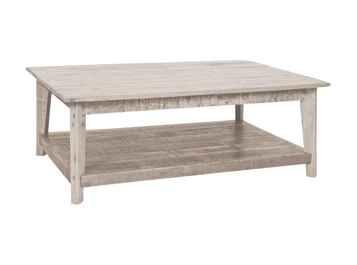 Whitewash Coffee Table