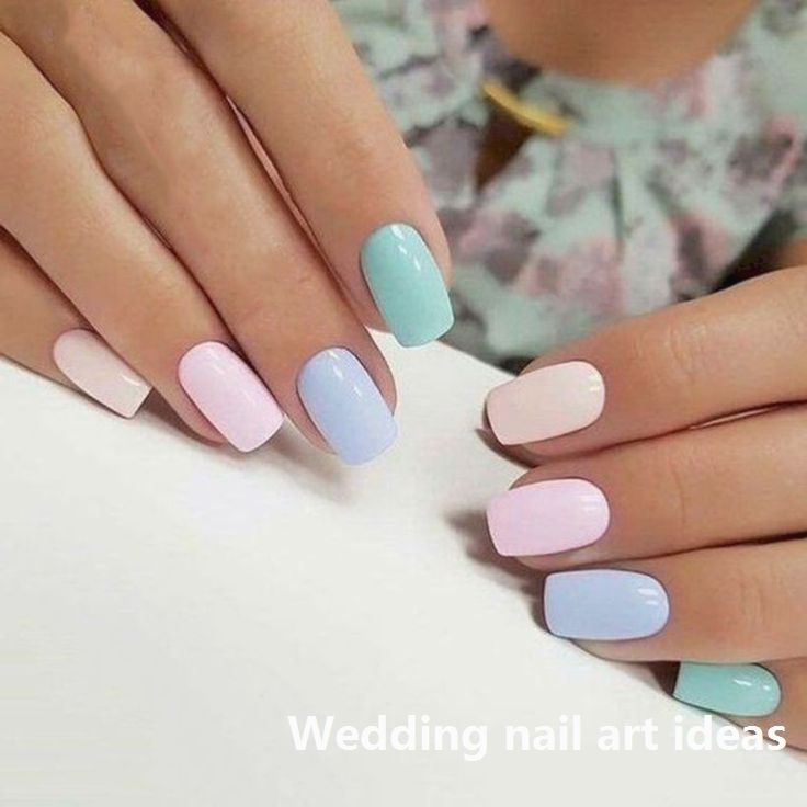 35 Simple Ideas For Wedding Nails Design Nailideas Pastel Nails Designs Chic Nail Art Chic Nails