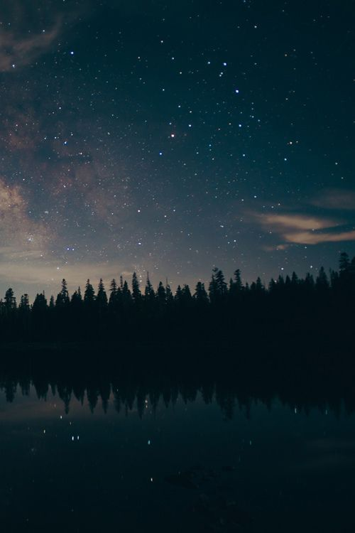 Just look at the stars so far away blinking like little crystals touched by rays of sunlight and know you will be safe.