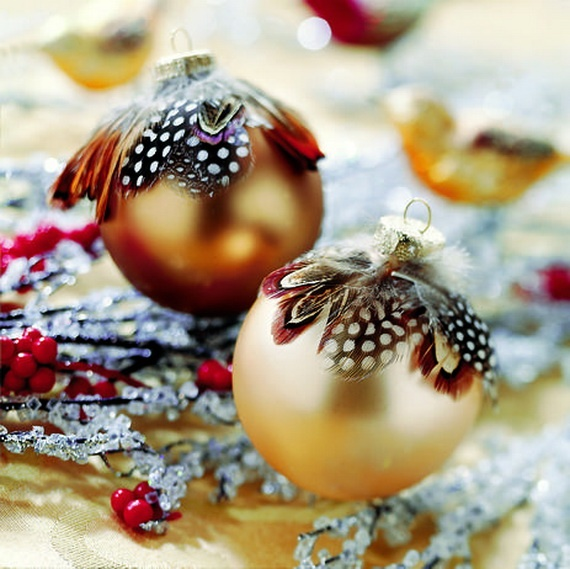 Natural Christmas Decorations With Natural Colors
