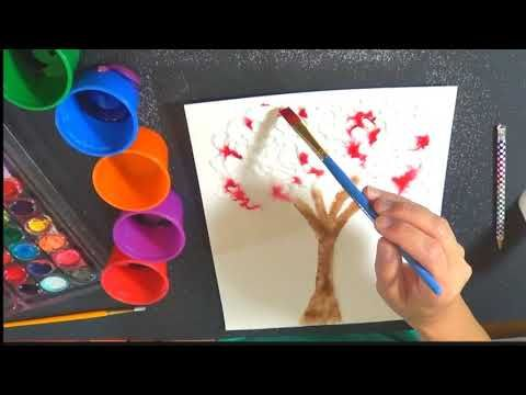 Watercolor and Salt Paintings – The Pinterested Parent