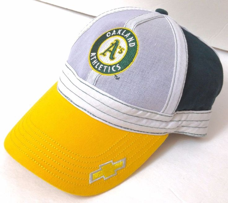"Sga Chevrolet Promo OAKLAND A'S RALLY CAP ""Inside Out"" Chevy Athletics Men/Women #Athletics #SGAPromo #OaklandAthletics"