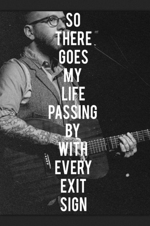 city and colour lyrics   City and Colour - Hello, I'm in Delaware   Lyrics to Live By