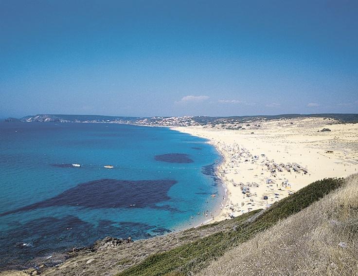 La spiaggia di Torre Dei Corsari