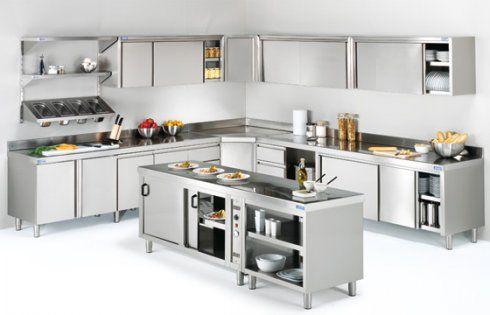 Cocinas industriales acero inoxidable