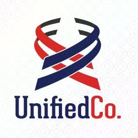 Exclusive Customizable Swoosh Logo For Sale: Unified Co. | StockLogos.com