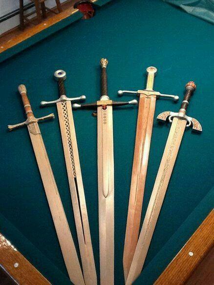 картинки как делать мечи заметить