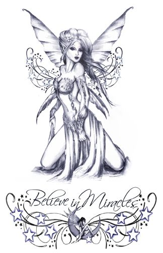 Believe In Miracles (temporary tattoos)
