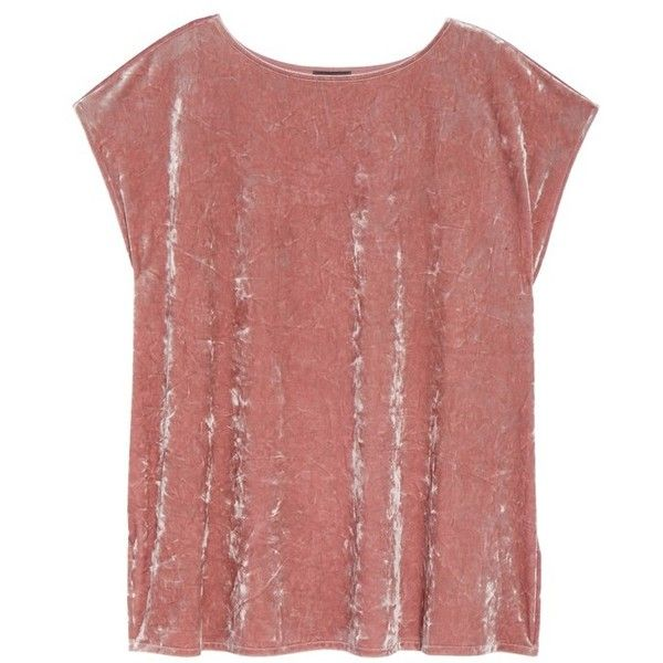 Plus Size Women's Vince Camuto Crushed Velvet Knit Tee ($46) ❤ liked on Polyvore featuring plus size women's fashion, plus size clothing, plus size tops, plus size t-shirts, plus size, drop shoulder t shirt, women's plus t shirts, red t shirt, red top and womens plus size tops