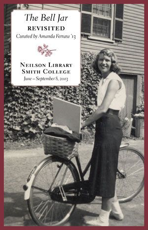 Sylvia Plath and her bike