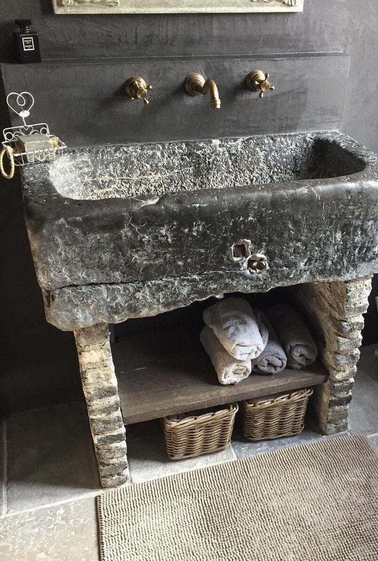 COCOON rustic bathroom design inspiration | high-e…