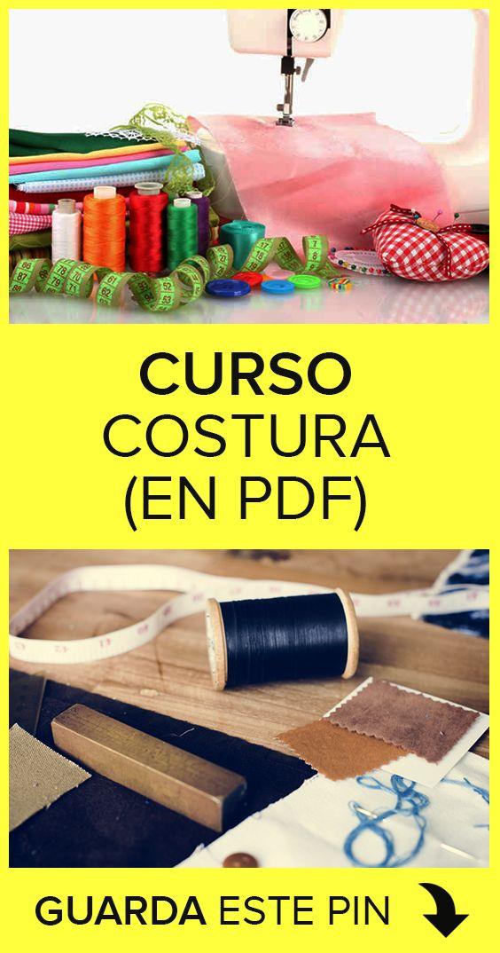 Curso de costura en formato PDF