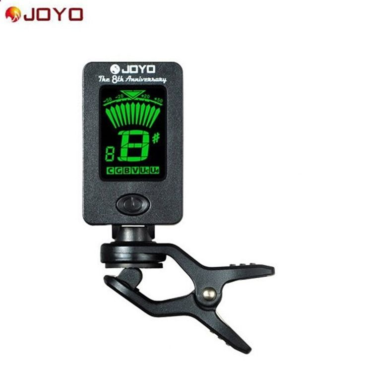 $2.46 (Buy here: alitems.com/... ) JOYO JT-01 Chromatic Clip-On Digital Tuner 360 Degree Rotatable guitar Tuners machines for Guitar Bass Violin Ukulele Battery for just $2.46