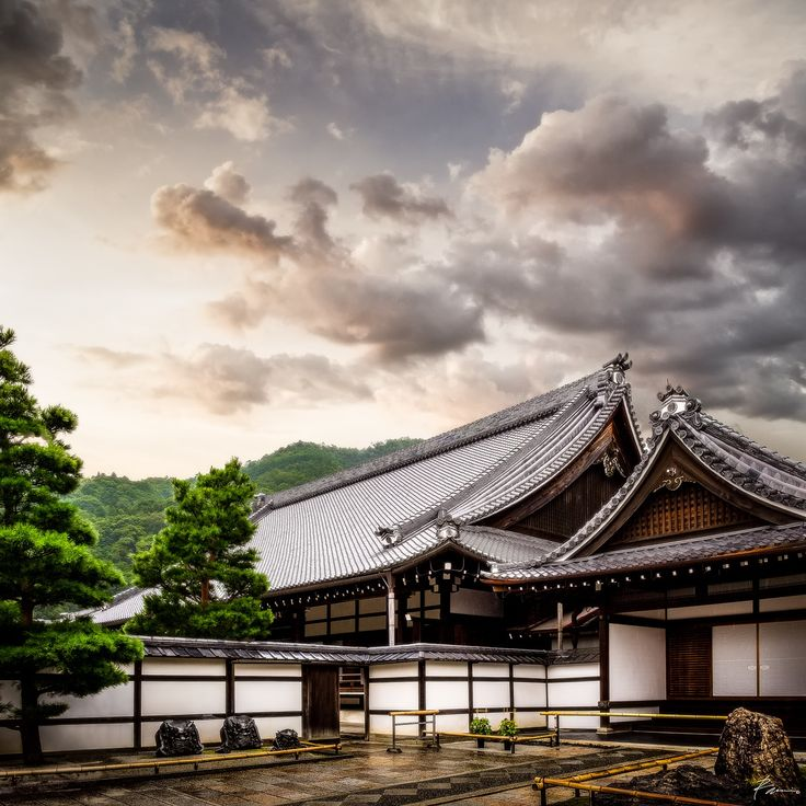 Tenryu-ji - Tenryū-ji, a Buddhist temple in Susukinobaba, Kyoto.