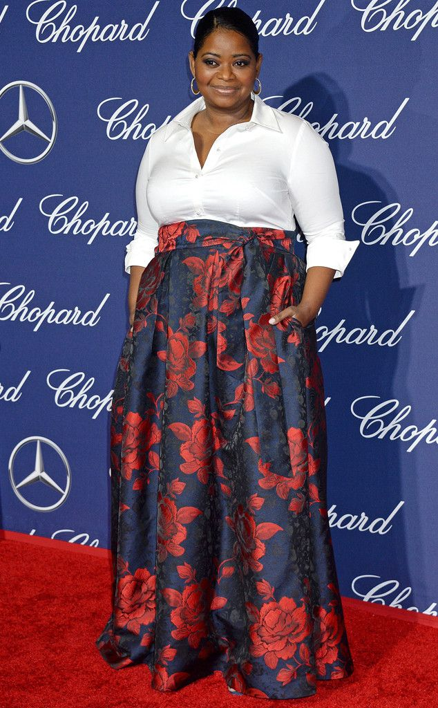Octavia Spencer from 2017 Palm Springs International Film Festival  TheHidden Figuresactress sported floral print for the special occasion.