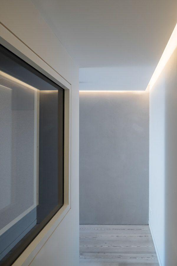 Sophie Bates Architects Lighting Detail Strip Lighting Ceiling Recessed Ceiling Lights Strip Lighting