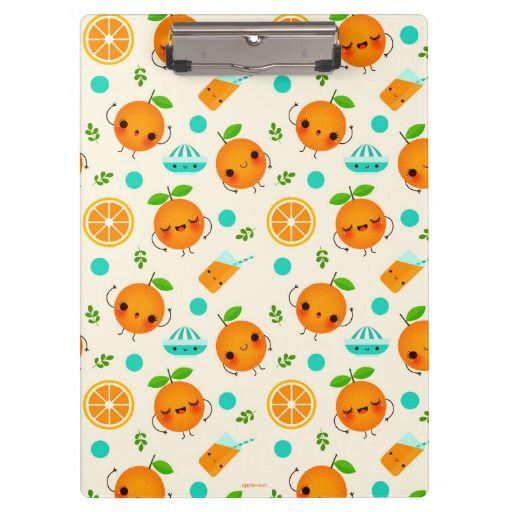 Oh lala Orange - Clipboard