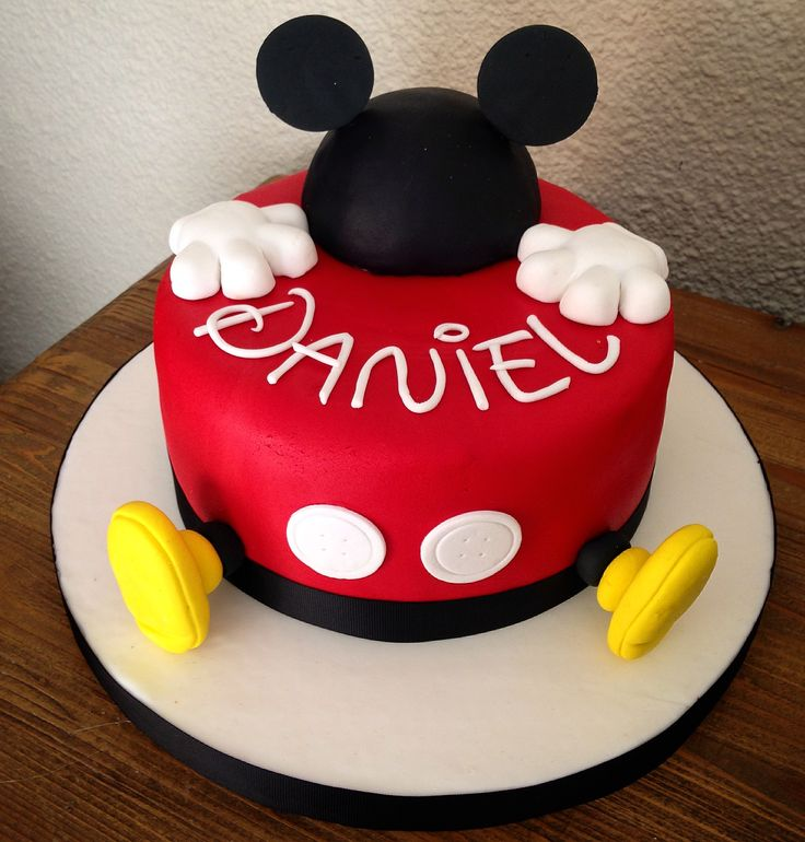 25+ Best Ideas about Mickey Mouse Birthday Cake on ...