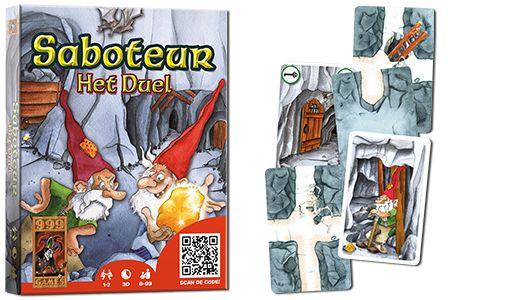 Saboteur, Het Duel. 999 games (1-2 spelers)