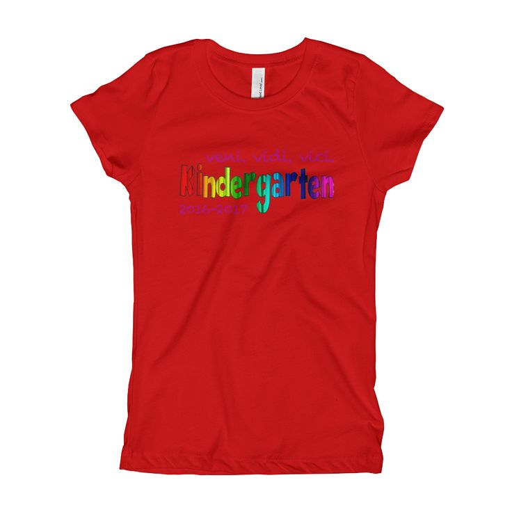 Cool School - K veni vidi vici - Girl's T-Shirt