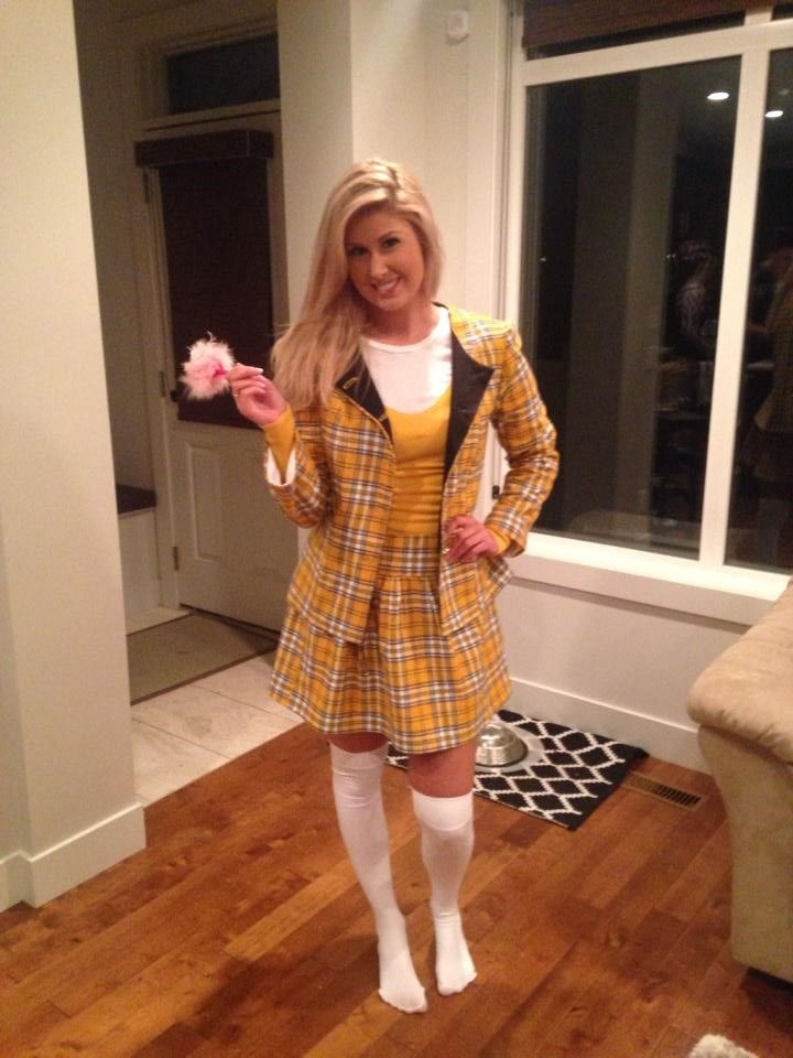 Cher horowitz yellow outfit costume for Plaid contemporain