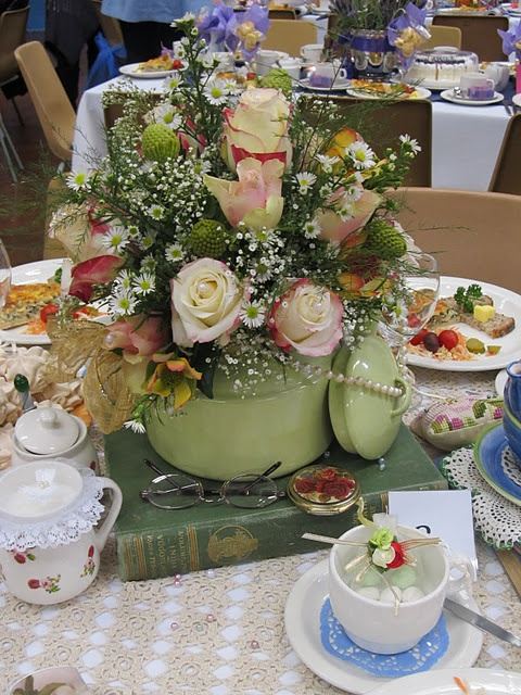 17 best images about women 39 s ministry tea party on for How to decorate a hat for a tea party