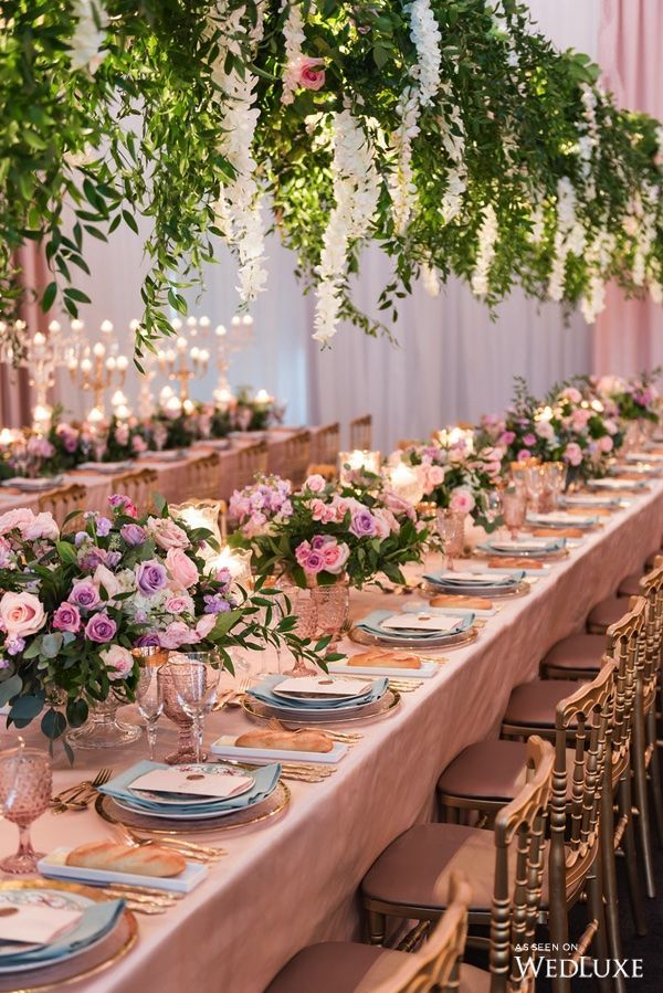 "Tablescape | An Ode to Marie Antoinette's ""Enchanted Garden"""