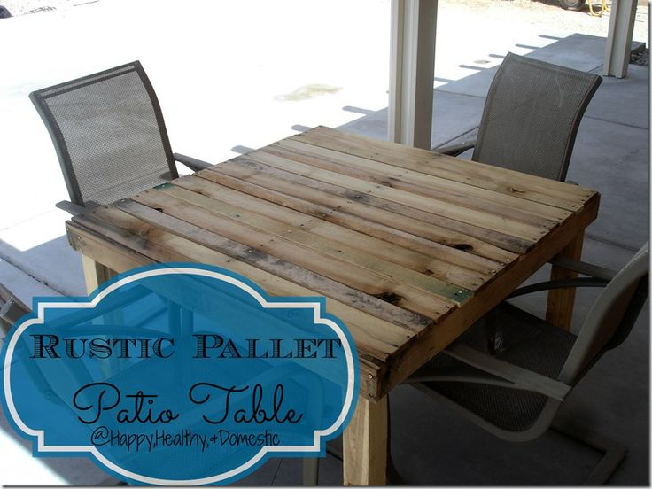 turning pallets into furniture. rustic pallet patio table for free turning pallets into furniture