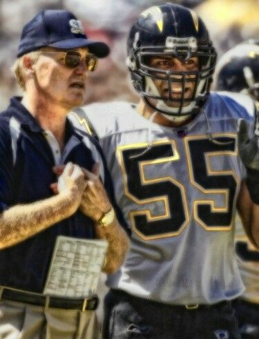 Marty Schottenheimer and Jr Seau! San Diego Chargers legends!