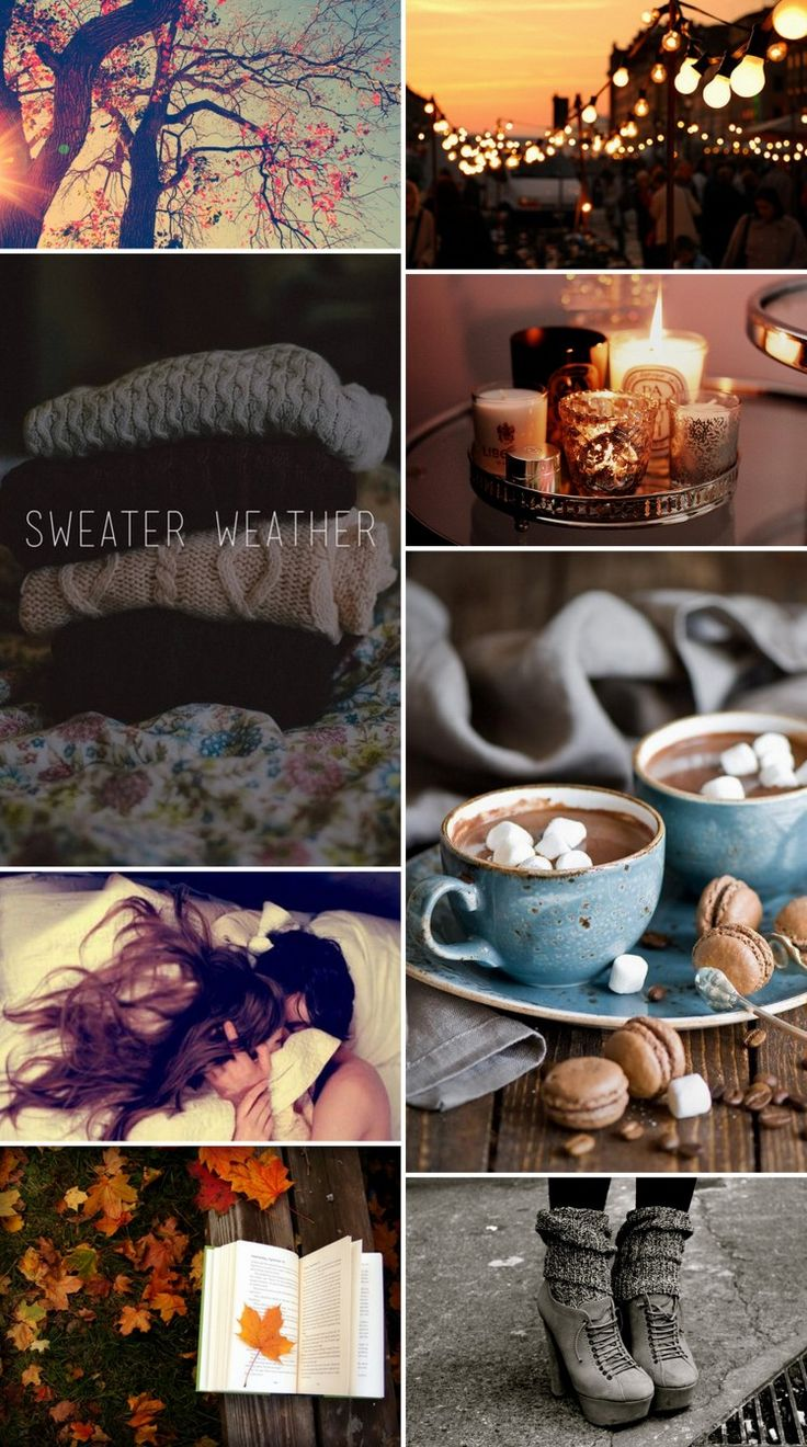 Autumn is the beginning of sweater weather