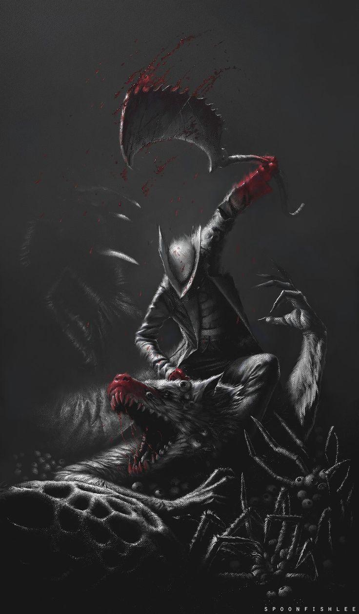 Bloodborne by Kevin Spoonfish Lee Broberg on ArtStation at https://www.artstation.com/artwork/bloodborne-9a6aeafa-dd8a-468d-a550-93b9abb0b10e